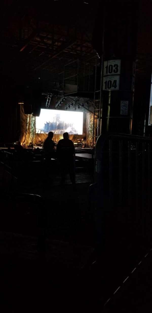 Hollywood Casino Amphitheatre (Tinley Park), secção: 206, fila: mm, lugar: 1