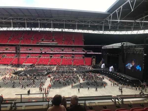 Wembley Stadium, secção: 251, fila: 6, lugar: 279