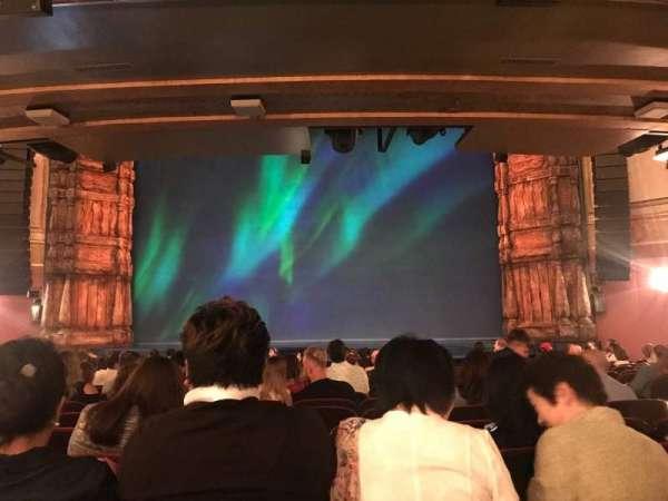 St. James Theatre, secção: Orchestra C, fila: P, lugar: 103