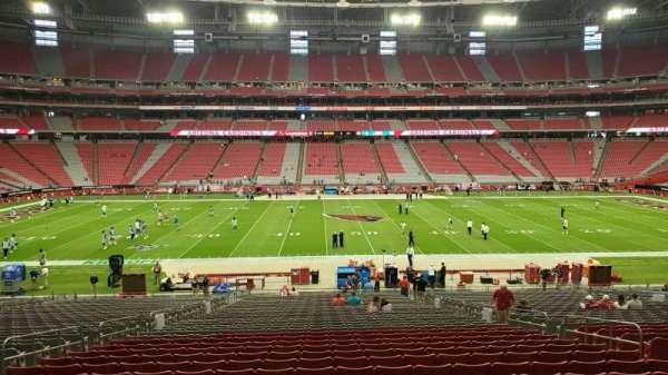 State Farm Stadium, secção: 109, fila: 37, lugar: 10