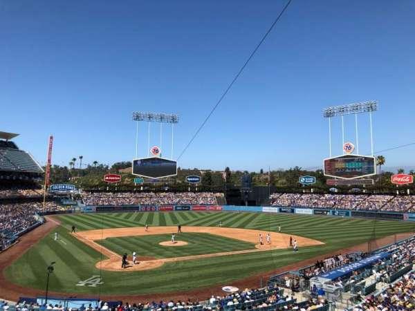 Dodger Stadium, secção: 112LG, fila: H
