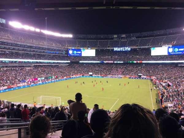 MetLife Stadium, secção: 148, fila: 44, lugar: 29