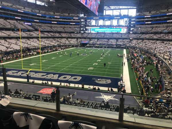 AT&T Stadium, secção: 220, fila: 3, lugar: 7