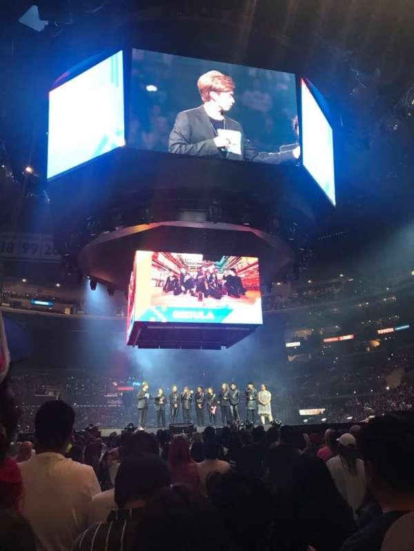 Staples Center, secção: GA