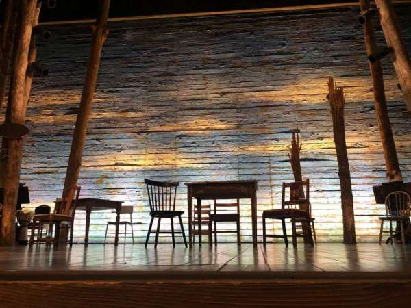 Gerald Schoenfeld Theatre, secção: Orchestra C, fila: AA, lugar: 109