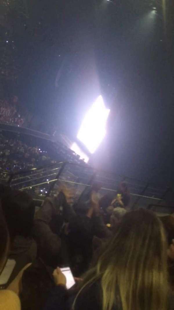 AccorHotels Arena, secção: balcon F, fila: 86, lugar: 01