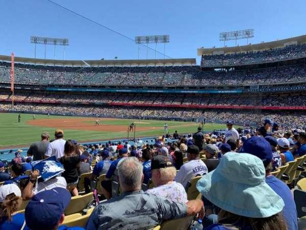 Dodger Stadium, secção: 39FD, fila: O, lugar: 5