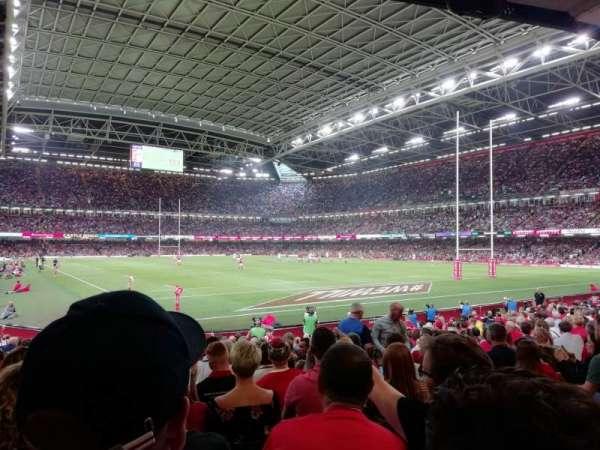 Principality Stadium, secção: L2, fila: 17
