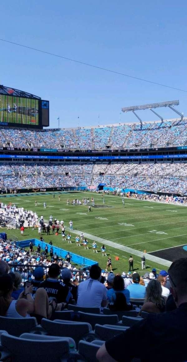 Bank of America Stadium, secção: 336, fila: 13, lugar: 10