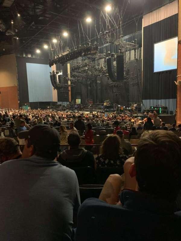 Xfinity Theatre, secção: 400, fila: FF, lugar: 415