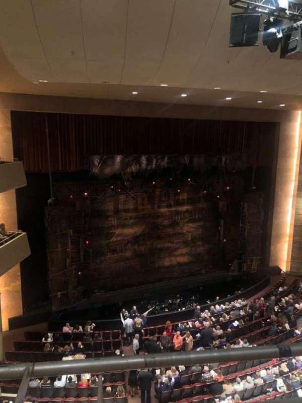 Temple Buell Theatre, secção: Balcony D, fila: A, lugar: 306