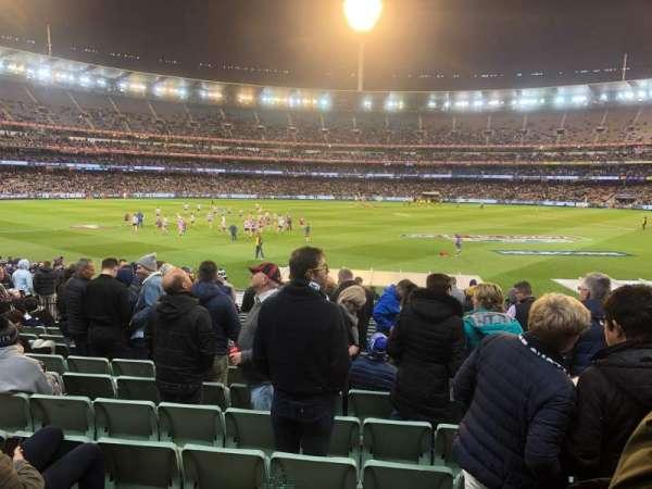 Melbourne Cricket Ground, secção: M, fila: Y, lugar: 6
