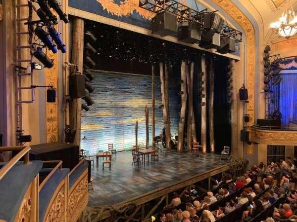 Gerald Schoenfeld Theatre, secção: Mezzanine L, fila: A, lugar: 21