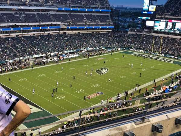 Lincoln Financial Field, secção: 219, fila: 3, lugar: 13