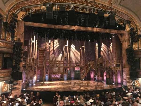 Richard Rodgers Theatre, secção: Orchestra L, fila: O, lugar: 1