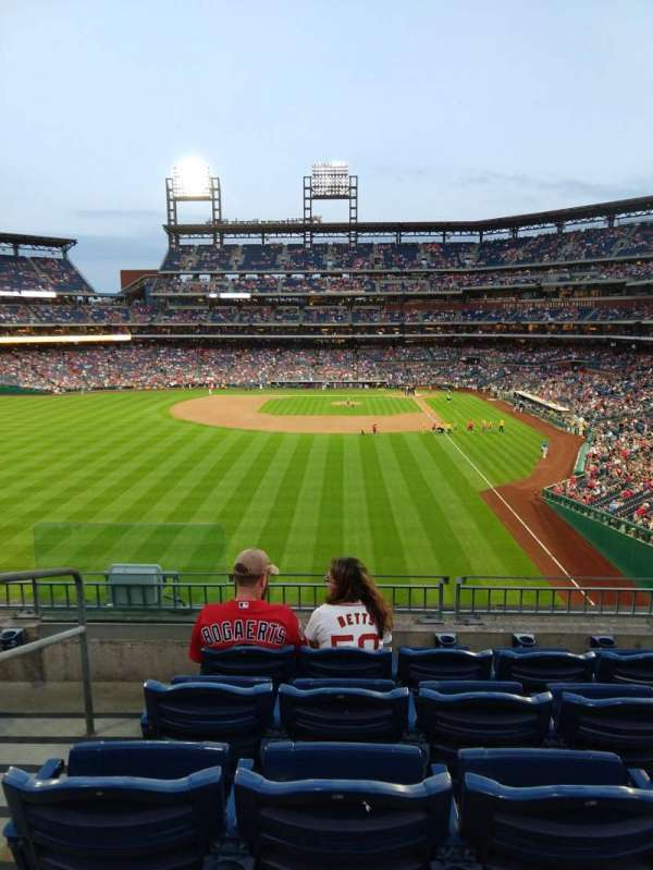 Citizens Bank Park, secção: 241, fila: 5, lugar: 16