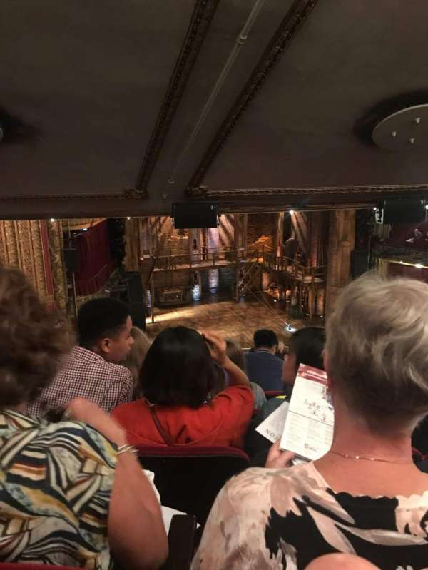 CIBC Theatre, secção: Mezzanine L, fila: M, lugar: 9