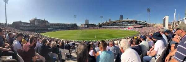 Kia Oval, secção: Peter May Stand, fila: 27, lugar: 45