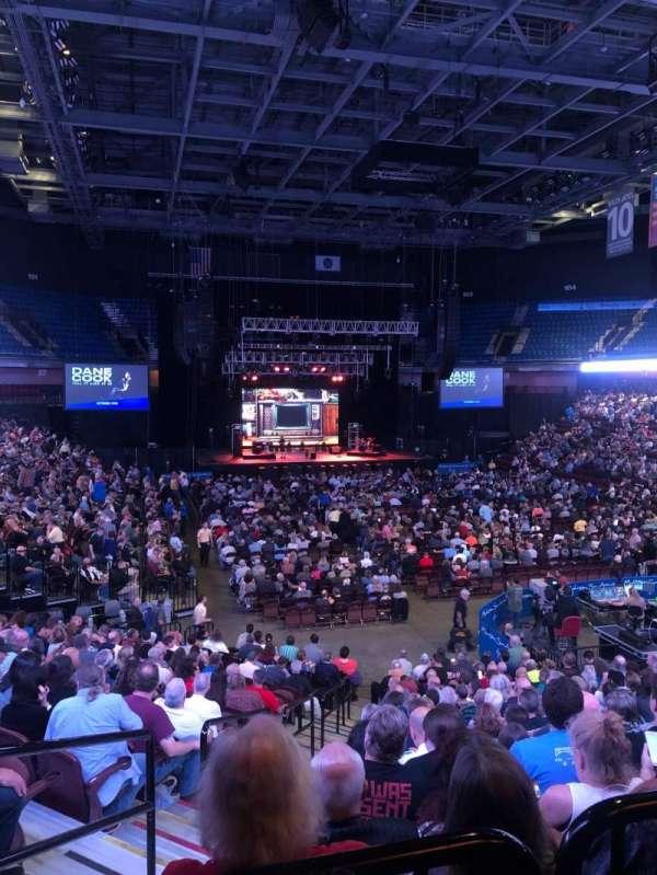 Mohegan Sun Arena, secção: 21, fila: T, lugar: 18
