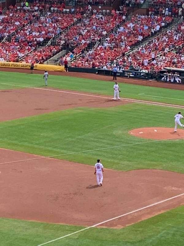 Busch Stadium, secção: 265, fila: 1, lugar: 9