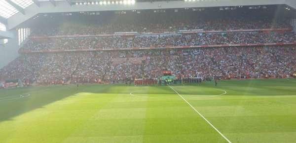 Anfield, secção: KK, fila: 14, lugar: 136
