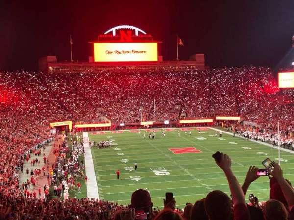 Memorial Stadium (Lincoln), secção: 17, fila: 64, lugar: 20