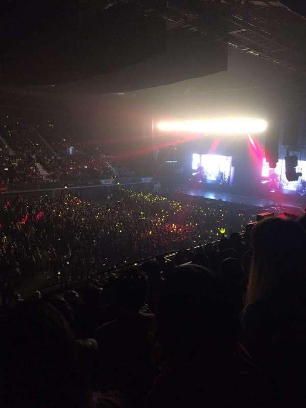 SSE Arena, Wembley, secção: N11, fila: P, lugar: 131