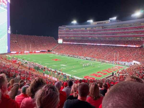 Memorial Stadium (Lincoln), secção: 41, fila: 64, lugar: 11