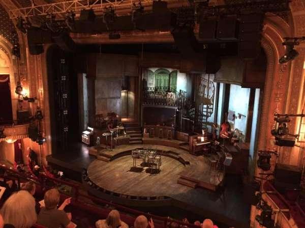 Walter Kerr Theatre, secção: Mezzanine L, fila: F, lugar: 18