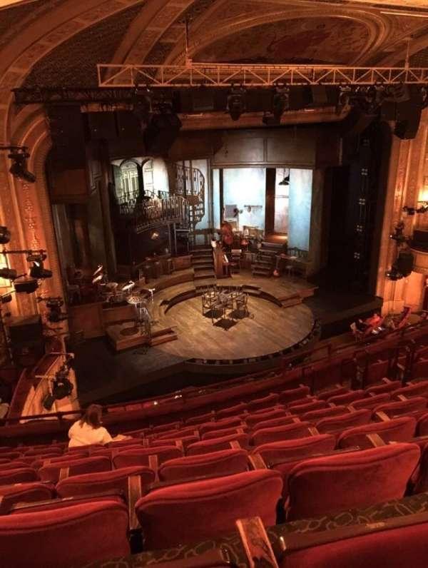 Walter Kerr Theatre, secção: Mezzanine L, fila: J, lugar: 19