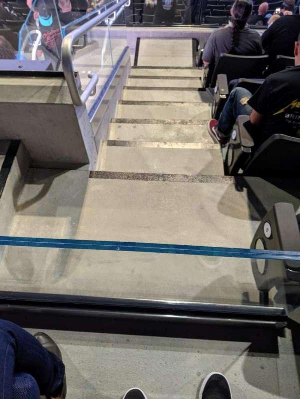 Chase Center, secção: 128, fila: 6, lugar: 16