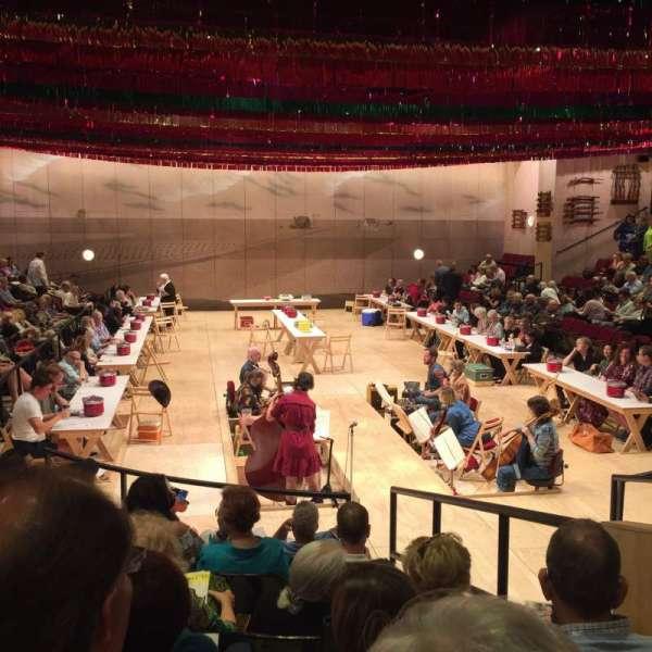 Circle in the Square Theatre, secção: Orchestra 100 (Odd), fila: G, lugar: 107