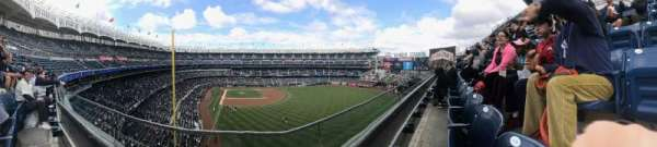 Yankee Stadium, secção: 306, fila: 1, lugar: 15