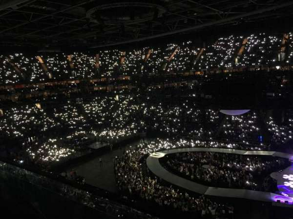 The O2 Arena, secção: 422, fila: A