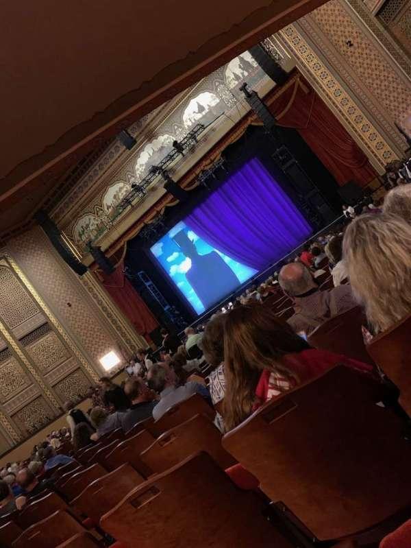Altria Theater, secção: ORCH_B, fila: Z, lugar: 202