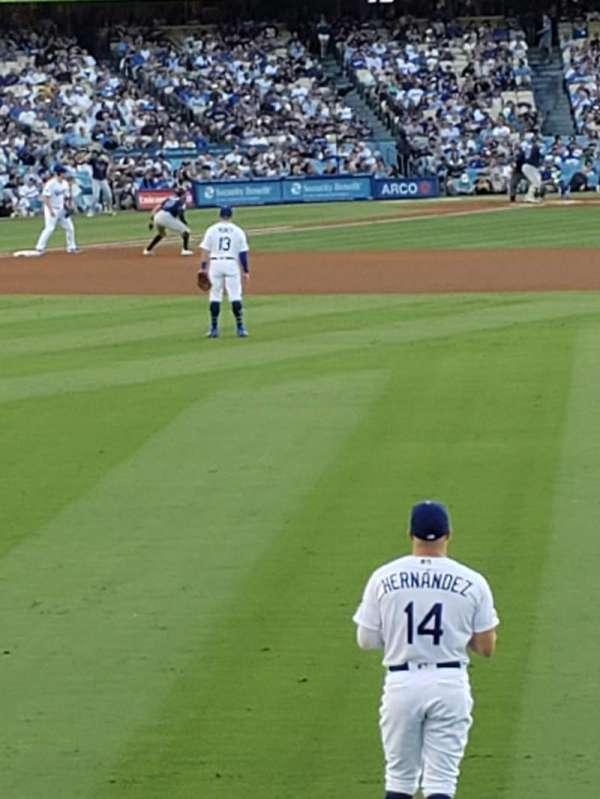 Dodger Stadium, secção: 308PL, fila: A, lugar: 12
