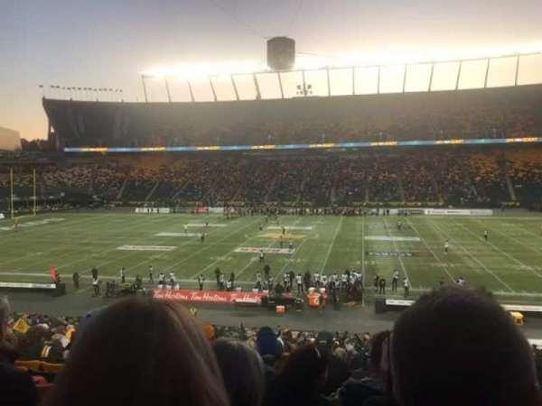 Commonwealth Stadium (Edmonton), secção: T, fila: 32, lugar: 1