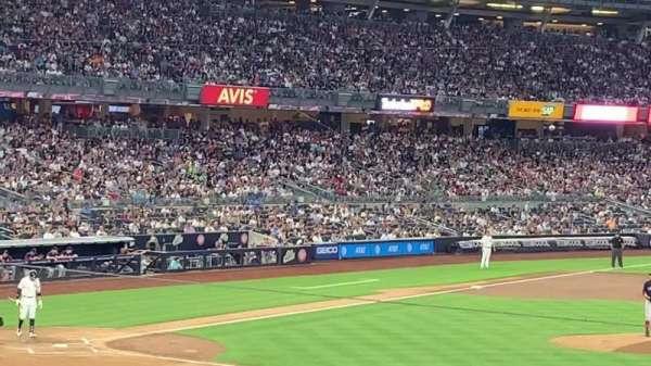 Yankee Stadium, secção: 115, fila: 30 , lugar: 7