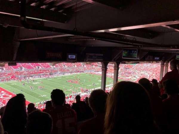 Ohio Stadium, secção: 28B, fila: 18, lugar: 21