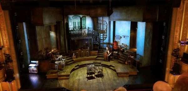 Walter Kerr Theatre, secção: Mezzanine C, fila: F, lugar: 108