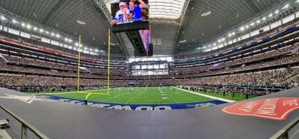 AT&T Stadium, secção: 122, fila: 8, lugar: 12