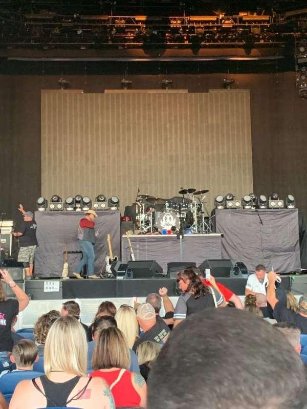 PNC Music Pavilion, secção: 2, fila: N, lugar: 19