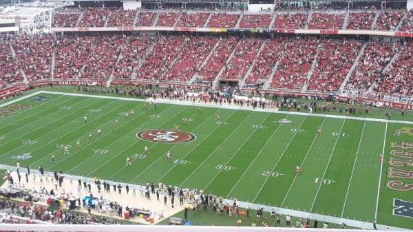 Levi's Stadium, secção: 408, fila: 2, lugar: 13