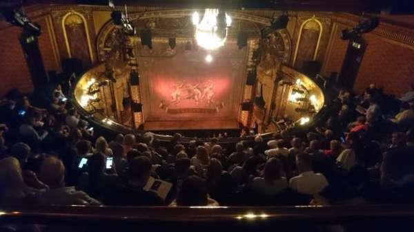 Theatre Royal Haymarket, secção: Gallery, fila: A, lugar: 11