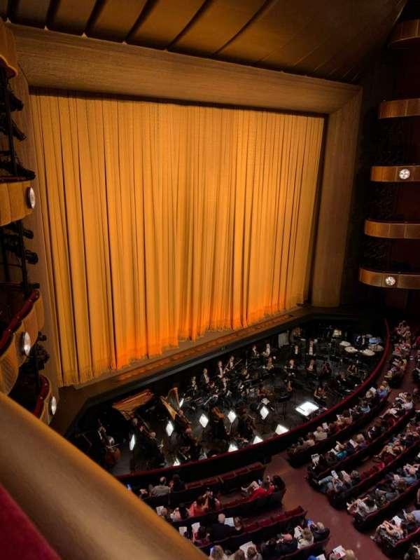 David H. Koch Theater, secção: Third Ring, fila: AA, lugar: 11