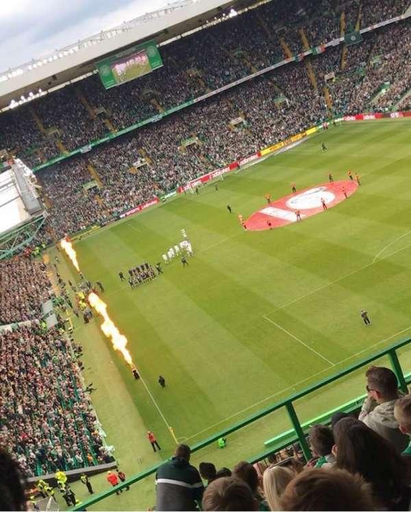 Celtic Park, secção: 419, fila: R, lugar: 07