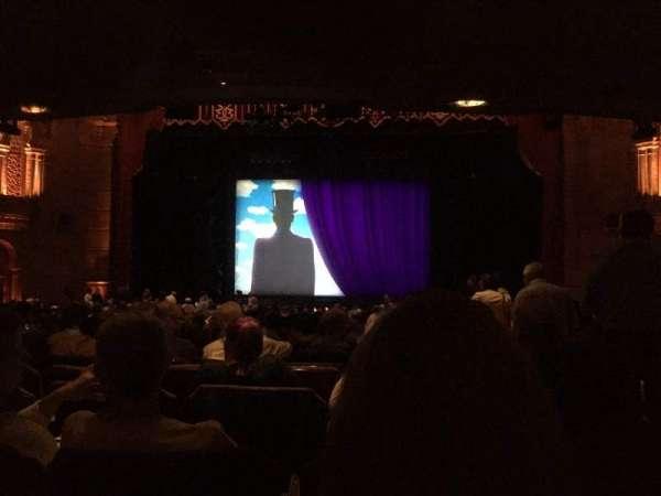 Fox Theatre (Atlanta), secção: Orchestra C, fila: DD, lugar: 102