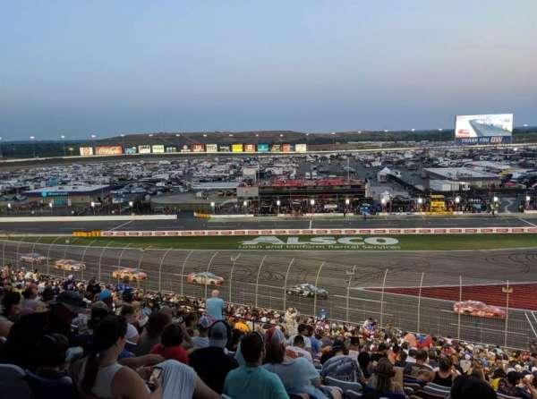 Charlotte Motor Speedway, secção: Chrysler E, fila: 43, lugar: 27