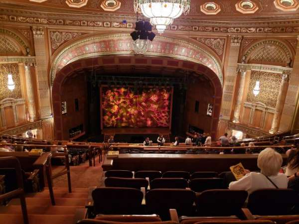 Benedum Center, secção: Second Tier C, fila: R, lugar: 101