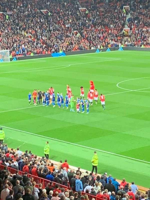 Old Trafford, secção: E230, fila: 28, lugar: 85